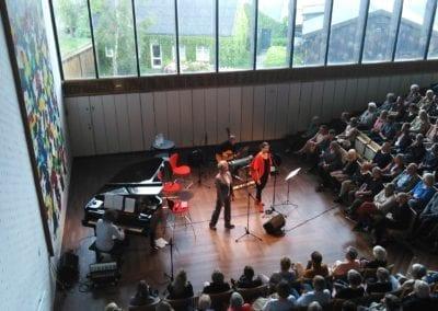 Lousiana Live med Stina Ekblad og Anna Kruse fortolker Edith Södergran