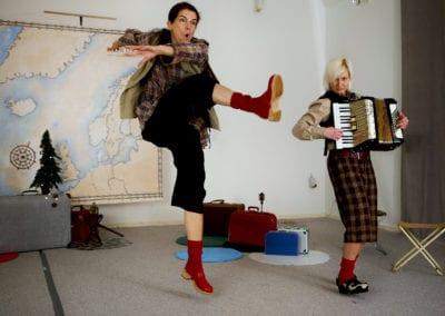 For børn - Norden Rundt - en eventyrlig musikalsk teaterforestilling