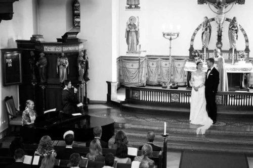 Sang til svensk kirkebryllup