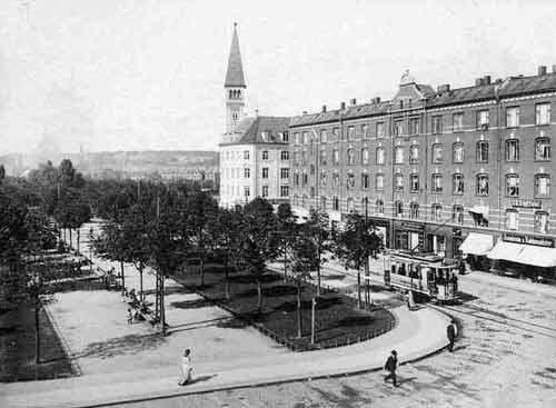 Enghave Plads i gamle dage