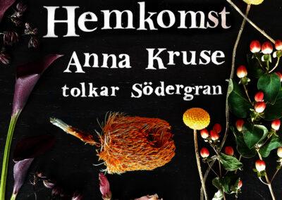 """Albummet Barndomsträd med Anna Kruse, singlen """"Hemkomst"""" 13 august"""