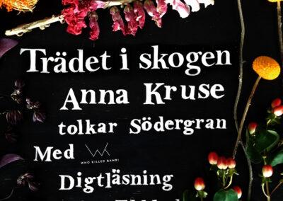 Albummet Barndomsträd med Anna Kruse, singlen Trädet i skogenan